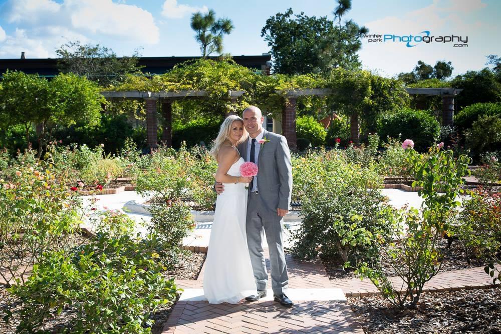 Winter Park Rose Garden, Downtown Winter Park, Park Ave romantic wedding locations, destination weddings